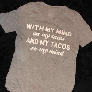 Taco Gray T-Shirt
